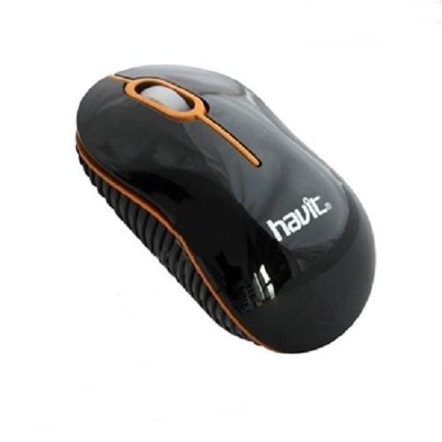 HAVIT Wired Optical Mouse [HV-MS232] - Black - Mouse Basic
